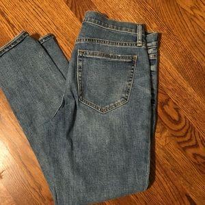 Gap Cropped  Best Girlfriend Jeans
